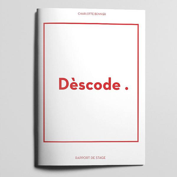Rapport de stage Dèscode