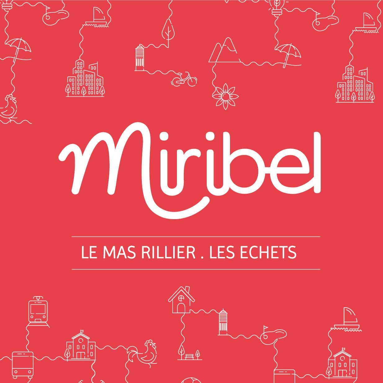 Charte graphique de la ville de Miribel